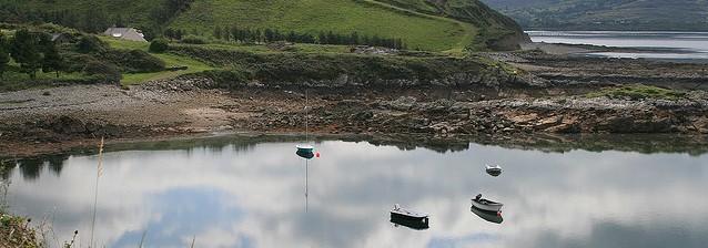 Beara water reflections