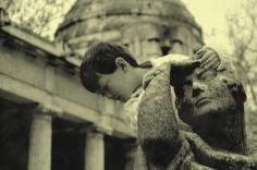 D climbing statue, Kerepesi