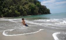 D on beach, MANP