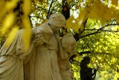 weeping statues, kerepesi