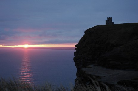 Cliffs of Moher sunset 2