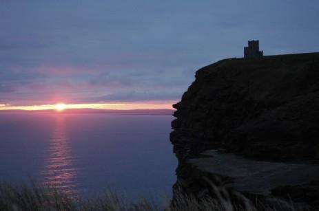 Cliffs of Moher sunset 2
