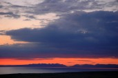 Sunset with Twelve Bens