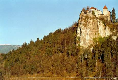 bled castle closer