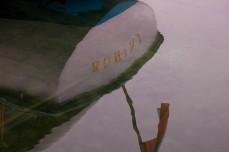 boat reflection, LB