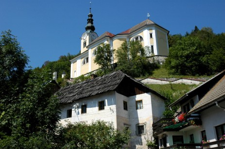 church, Sredna Vas