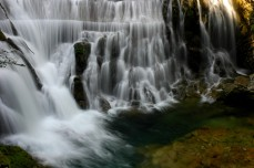 falls at Vintgar Gorge