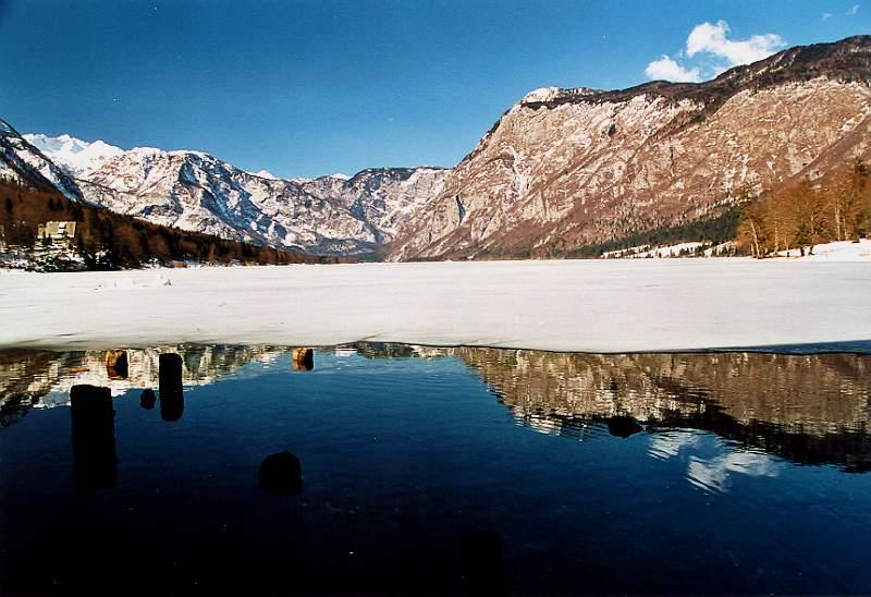 Lake Bohinj ...