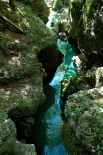 narrow gorge, Mostnica