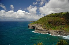 coastline, Kilauea point