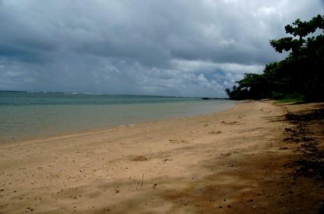 Stormy sky, Anini beach 2