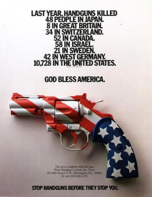 god bless america gun the one
