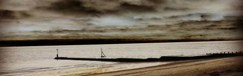 Stormy skies, Clacton