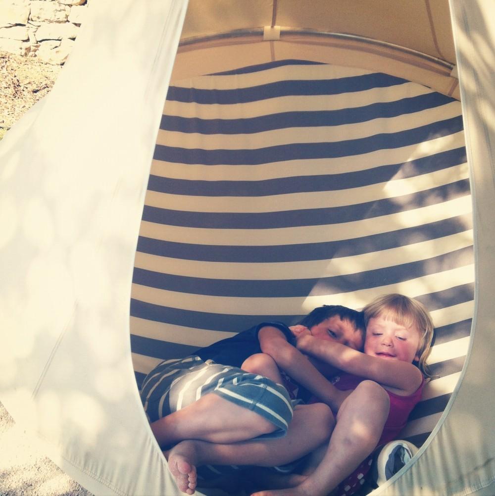Kids in the pod
