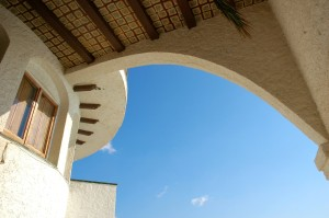 arch and sky, Sitges - Copy