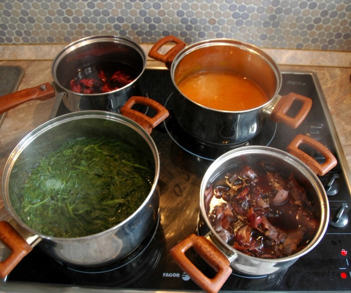 Dyes cooking