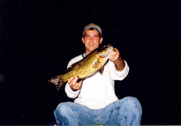 Night fishing smallmouth bass
