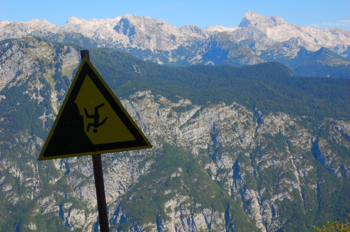 Please don't plunge off the mountain