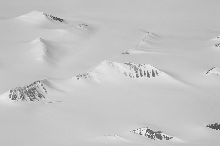 snow-covered mountains, Greenland