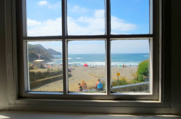 View from the window, Cornwall