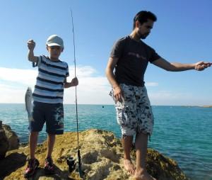 Ulises, our helper, friend, and fellow fisherman