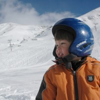 Family Skiing at Boi-Taull, in Spain's Vall de Boi