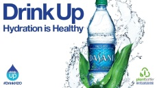 Dasani - Coca-Cola's tap water in a bottle.