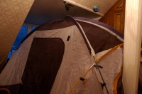 tent in the boys' room 2