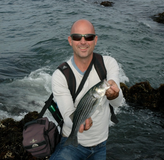matt with striper2