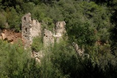 Mill ruins on Brugent River