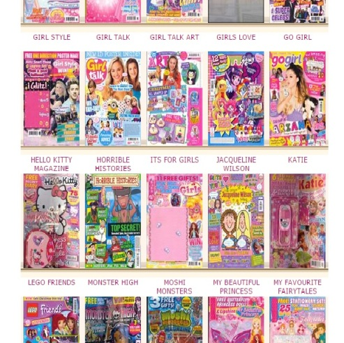 girls' posters