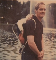 Me and my dad, 1972