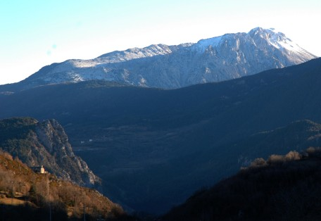view across valley, chia