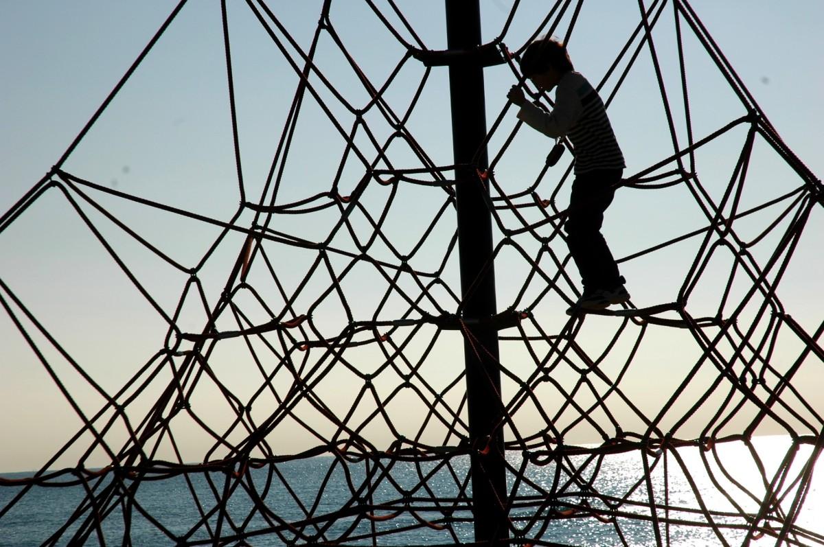 D on climbing thing