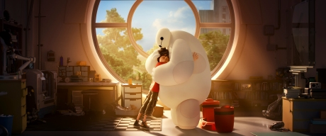 """""""Big Hero 6"""" (L-R) HIRO and BAYMAX. ?2014 Disney. All Rights Reserved."""
